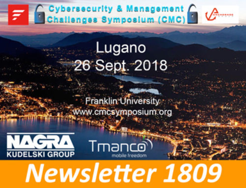Lugano 26 Sept. 2018 – Cybersecurity Symposium